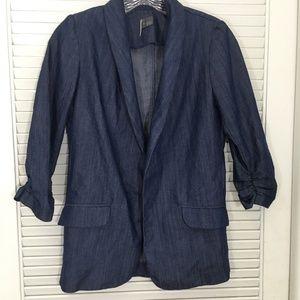 Urban Outfitters Sparkle & Fade Tencel Blazer XS